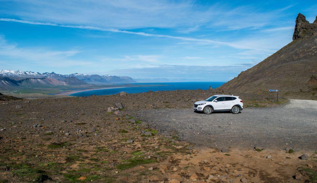 Ein Auto mit Allrad und gutem Radstand ist in Island eine gute Idee.