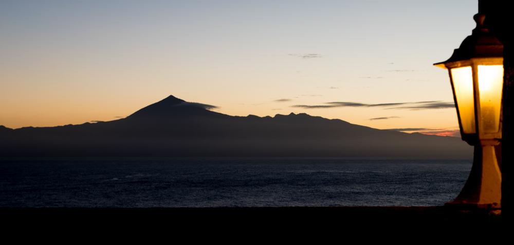 Teide im Morgengrauen.
